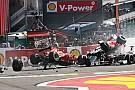 Galeria: acidentes em largadas que deram o que falar na F1