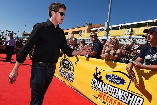NASCAR Cup Noticias de última hora Carl Edwards recibirá reconocimiento por su buena conducta deportiva