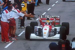 Formel 1 Historie Bildergalerie: Der letzte Formel-1-Sieg von Ayrton Senna