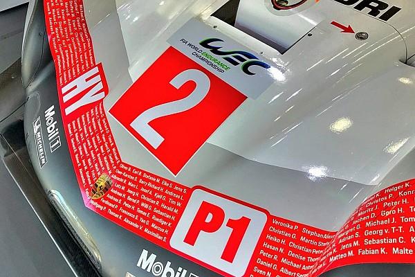 Porsche сделала прощальную ливрею для последнего этапа WEC