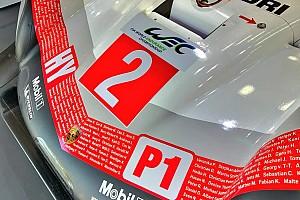 WEC Новость Porsche сделала прощальную ливрею для последнего этапа WEC