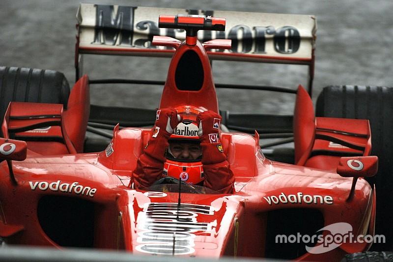 Schumacher lett a legeslegjobb Ferrari versenyző