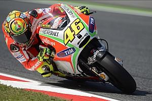 """MotoGP Noticias de última hora Rossi: """"Mi Ducati no estaba para ganar; Dovizioso lo logró seis veces este año"""""""