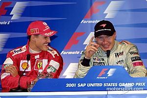 Формула 1 Ностальгія Цей день в історії: Шумахер і Хаккінен у зимовому ролику Mercedes