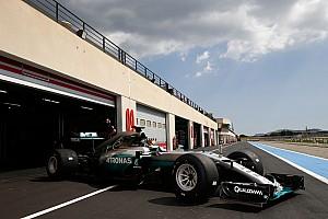 Formel 1 News Hamilton geschont: Mercedes räumt Fehler bei Reifentests ein