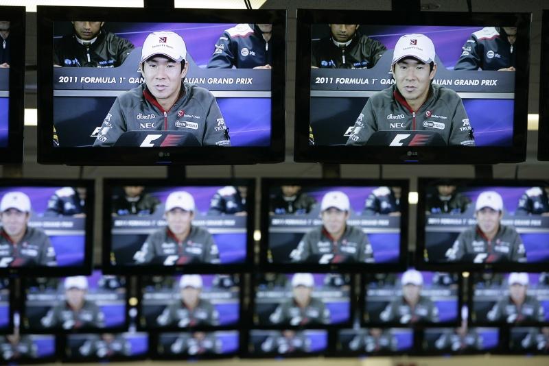 Na coletiva da FIA, Kobayashi pediu apoio da F-1 ao seu país