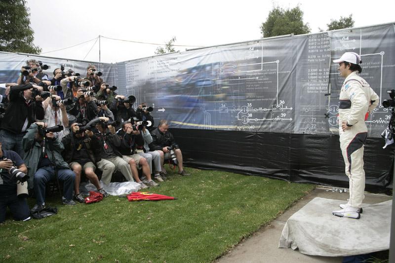 Perez está confiante para a estreia na Fórmula 1