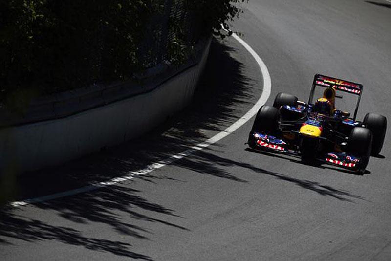 Webber dominou a primeira sessão de treinos para o GP da Europa