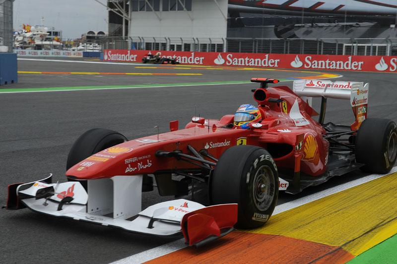 Alonso foi o mais rápido da sexta-feira em Valência