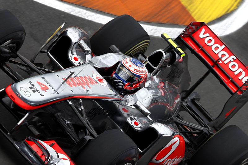 Jenson Button em Valência