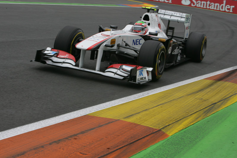 Perez está de volta ao cockpit da Sauber