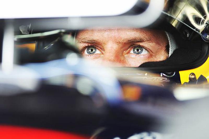 Vettel foi o melhor na terceira sessão de livres
