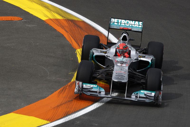 Schumacher adotou um tom resignado após a classificação