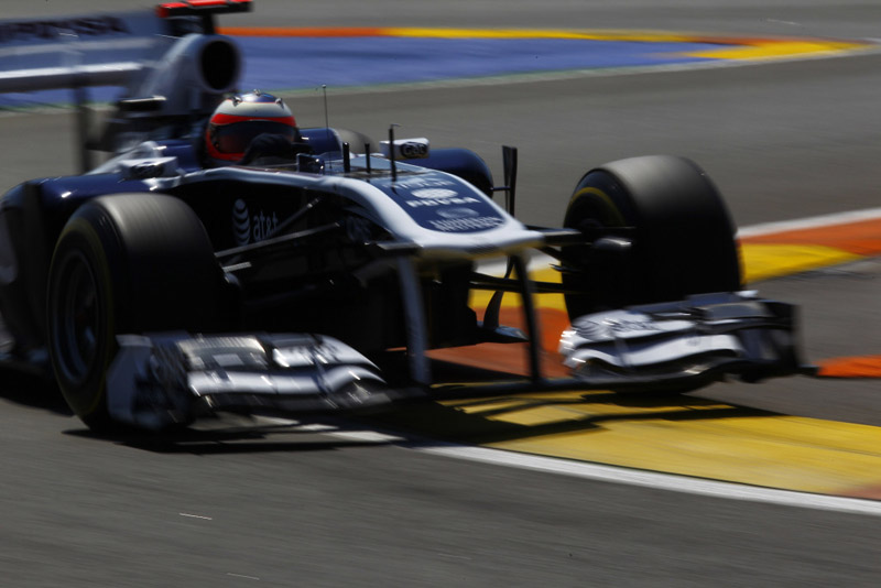 Barrichello larga em 13º no GP da Europa