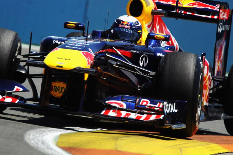 Sebastian Vettel: seis vitórias em oito corridas e 186 pontos conquistados