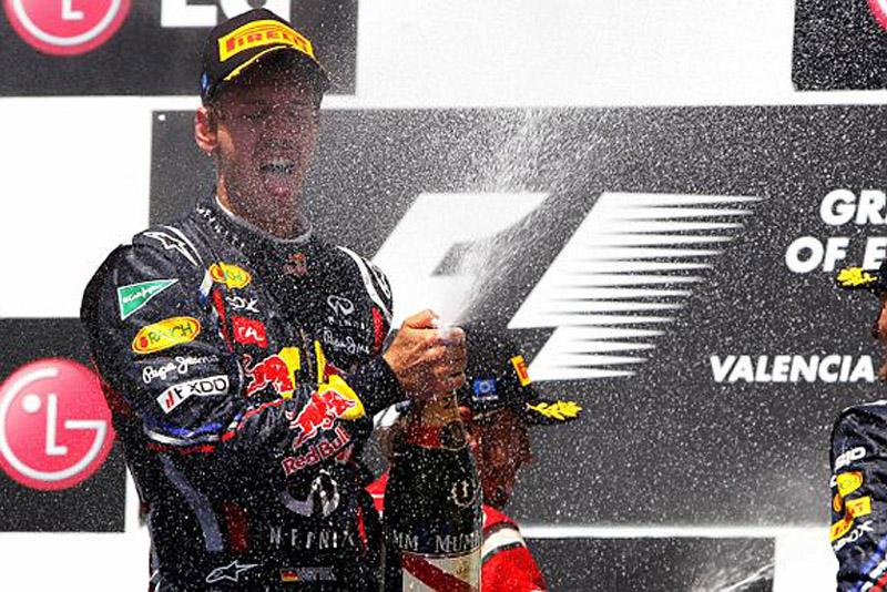Vettel só não liderou uma das voltas da prova