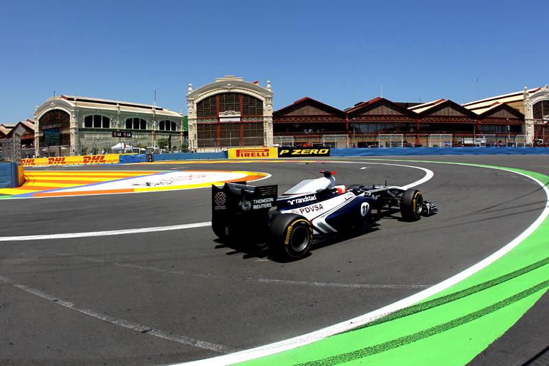 Discreto, Barrichello ficou em 12º no GP da Europa