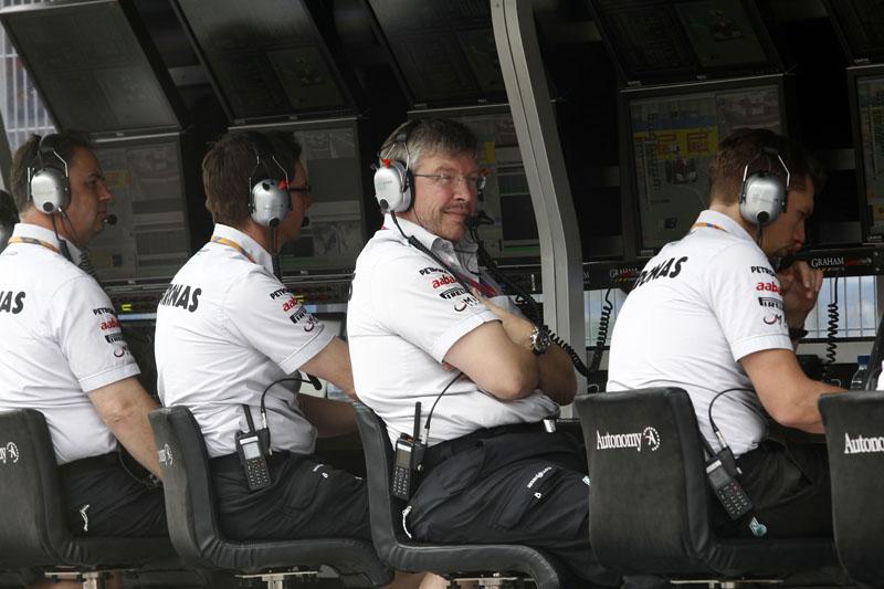 Ross Brawn tem títulos com a Ferrari e a Brawn