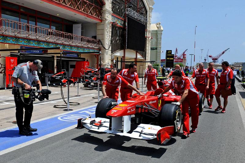 Ferrari em testes
