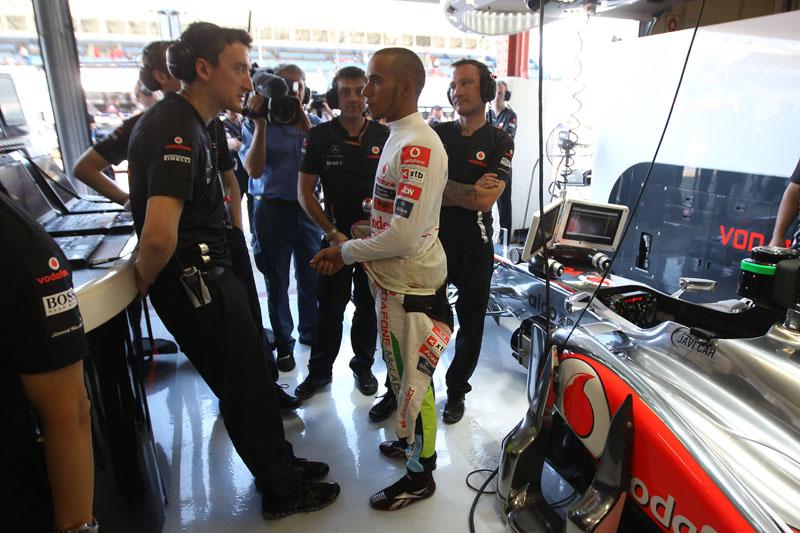 Hamilton marcou apenas 20 pontos nas últimas três corridas
