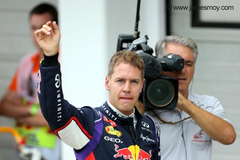 Vettel: confiança para repetir o sucesso de 2013 em Spa