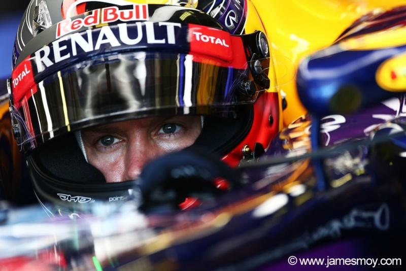 Vettel: quatro corridas seguidas fora do pódio