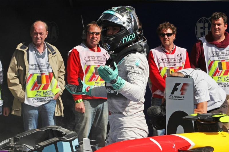 Rosberg desmentiu Hamilton