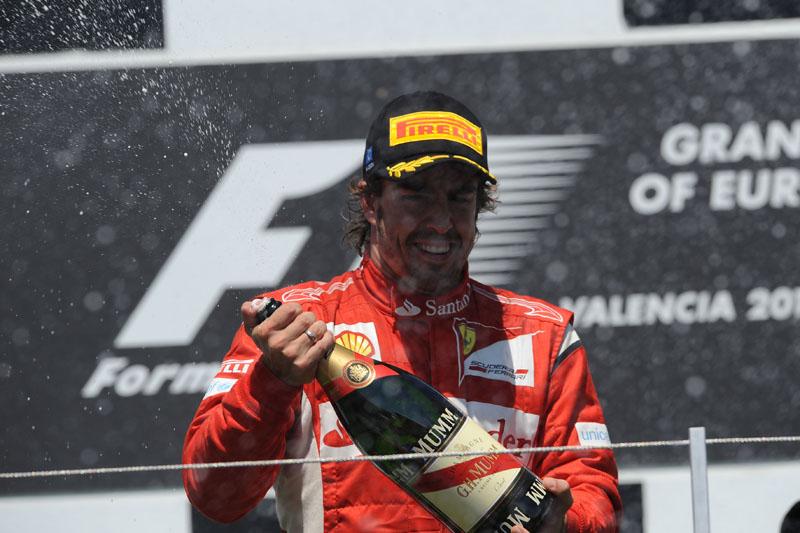 Alonso fez dois pódios nas últimas três provas