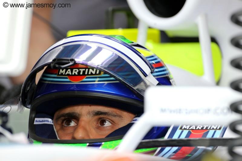 Felipe Massa deixou o treino classificatório satisfeito