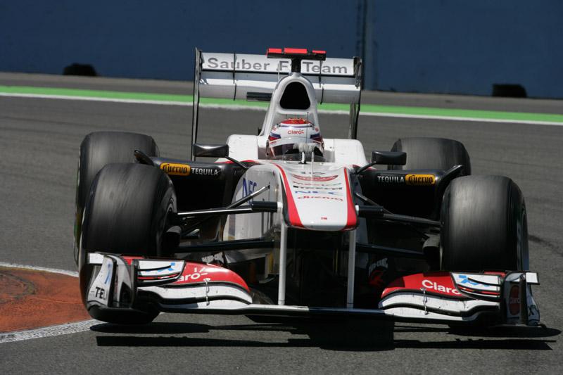Kamui Kobayashi conquistou seu melhor resultado de 2010 em Silverstone