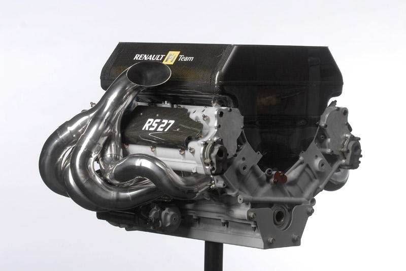 Motor Renault que atualmente equipa Renault, Red Bull e Lotus