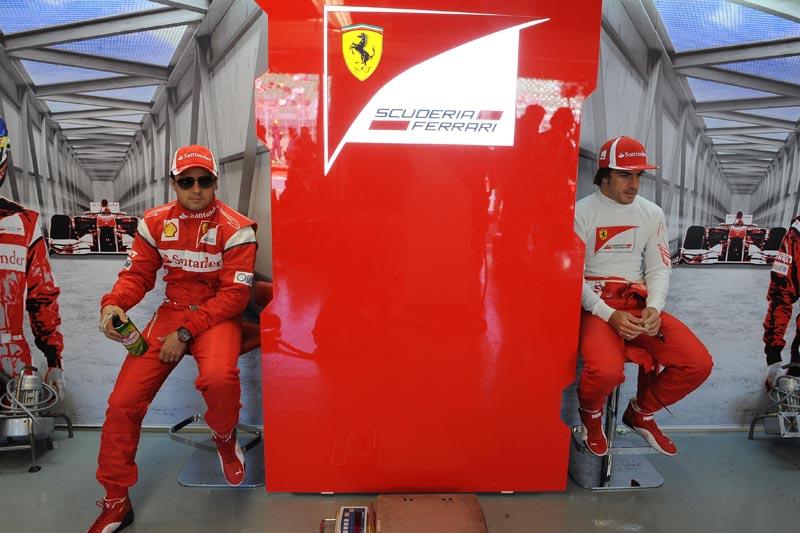 Alonso divide a equipe com Massa pelo segundo ano