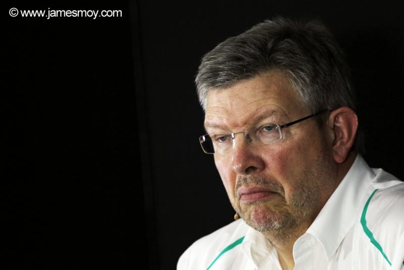 Brawn negou qualquer chance de voltar à F1