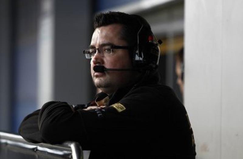 Eric Boullier, chefe da equipe Renault