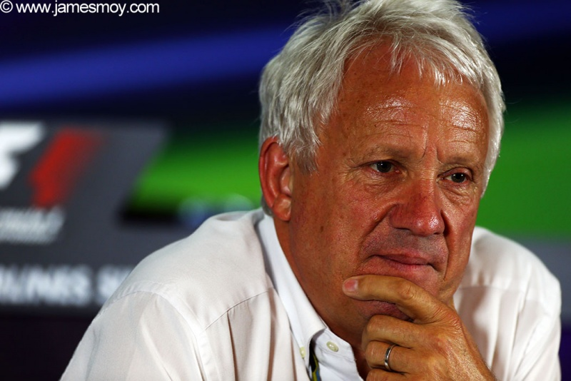 Charlie Whiting explicou a 'nova mudança' no regulamento
