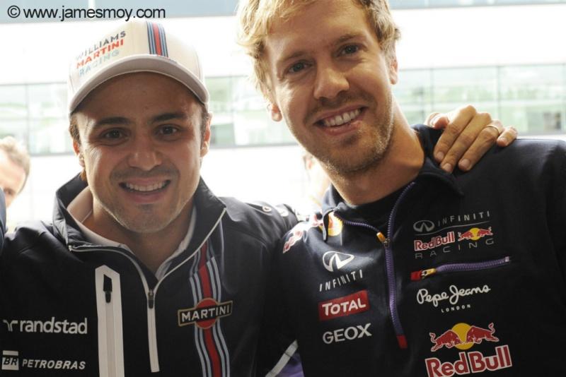 Massa destaca a renovação da Ferrari ao contratar Vettel