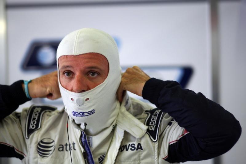 Barrichello: satisfeito com o trabalho nesta sexta-feira