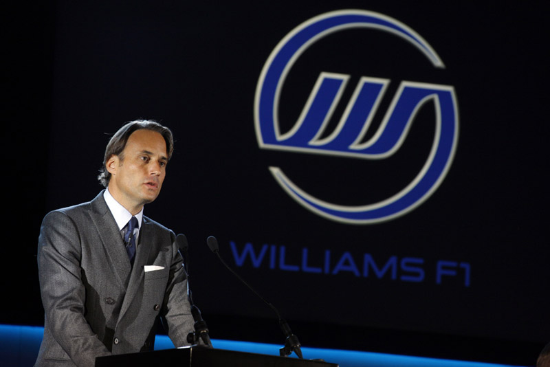 Adam Parr durante evento da Williams