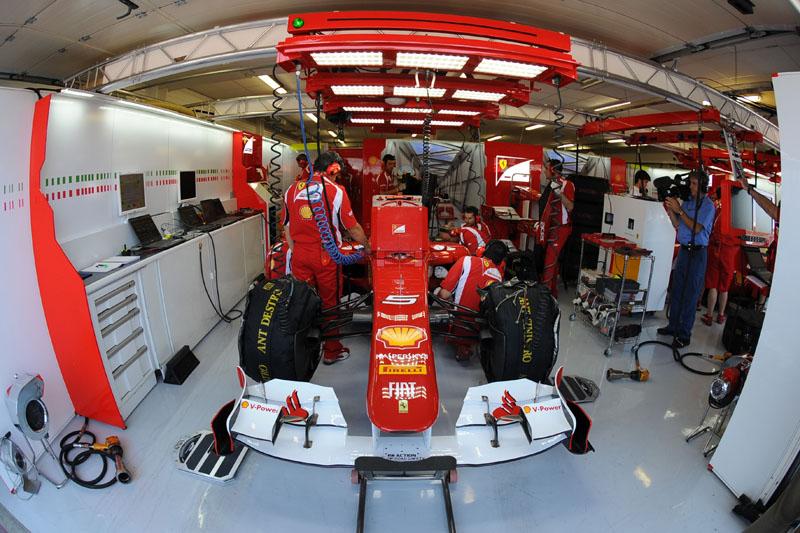 A Ferrari mantém as esperanças de título