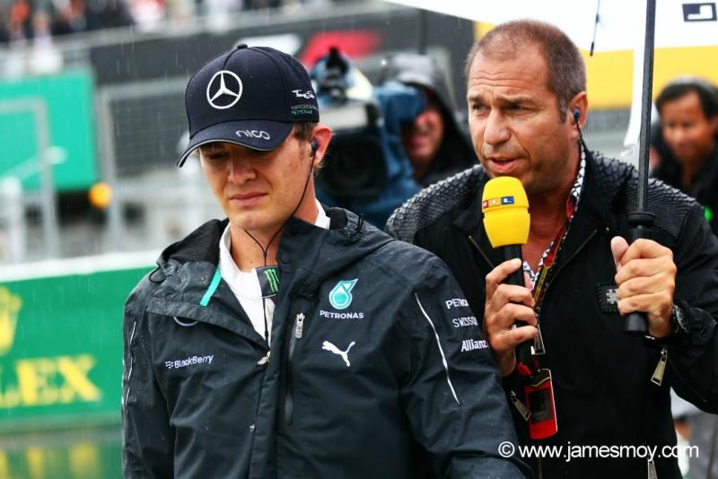 Rosberg não escondeu a preocupação com Jules Bianchi