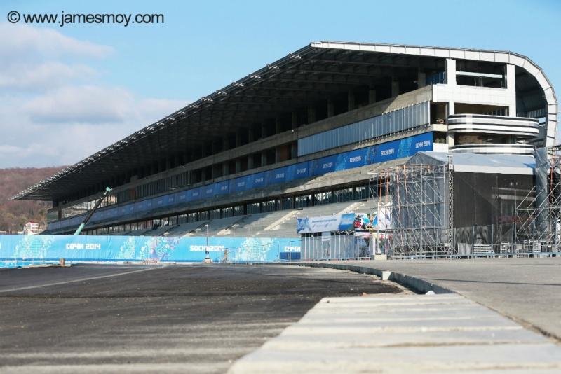 Sochi receberá neste final de semana pela primeira vez a F1