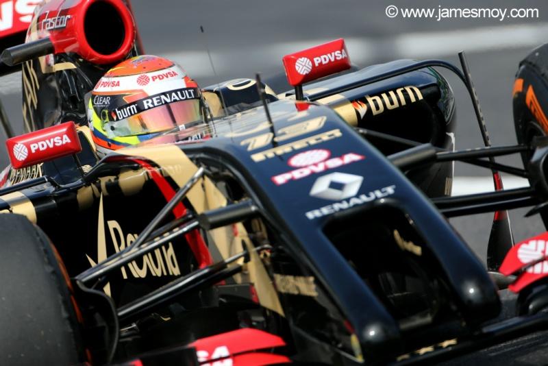 Pastor Maldonado confia em uma Lotus melhor nas últimas etapas