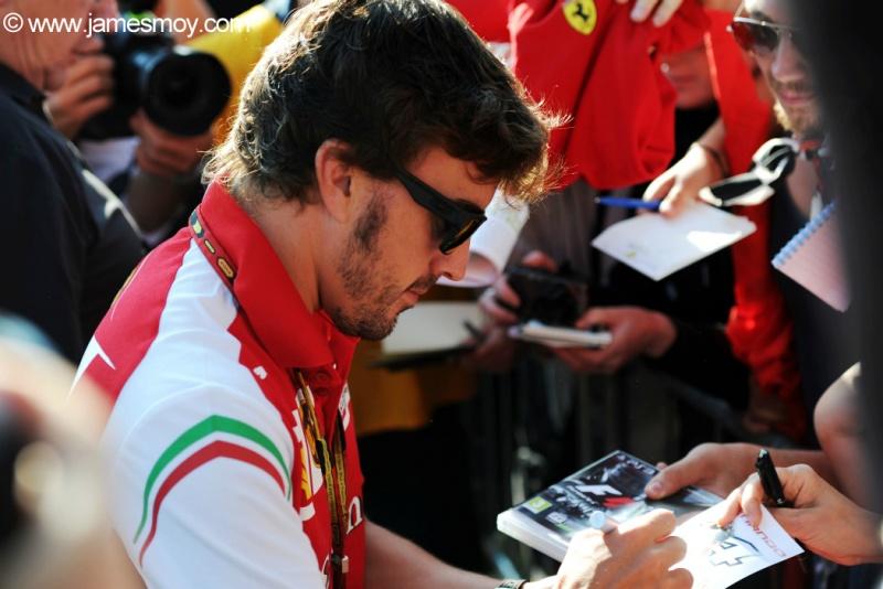 Alonso se surpreendeu com a recepção dos russos