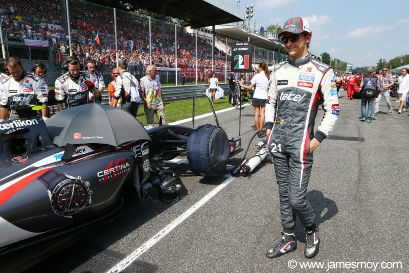 Gutierrez sonha em somar pontos com a Sauber até o fim do ano