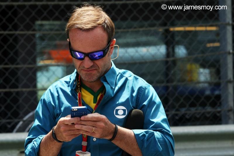 Barrichello, sem a Caterham, não se 'despedirá' da F1