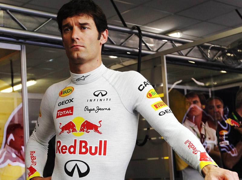 Webber foi o melhor na primeira sessão de treinos livres