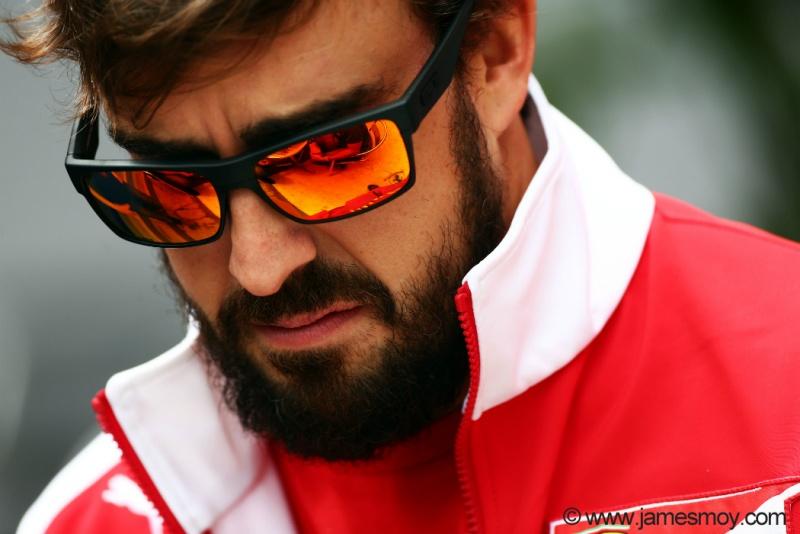 Alonso lamentou o problema ocorrido na segunda sessão