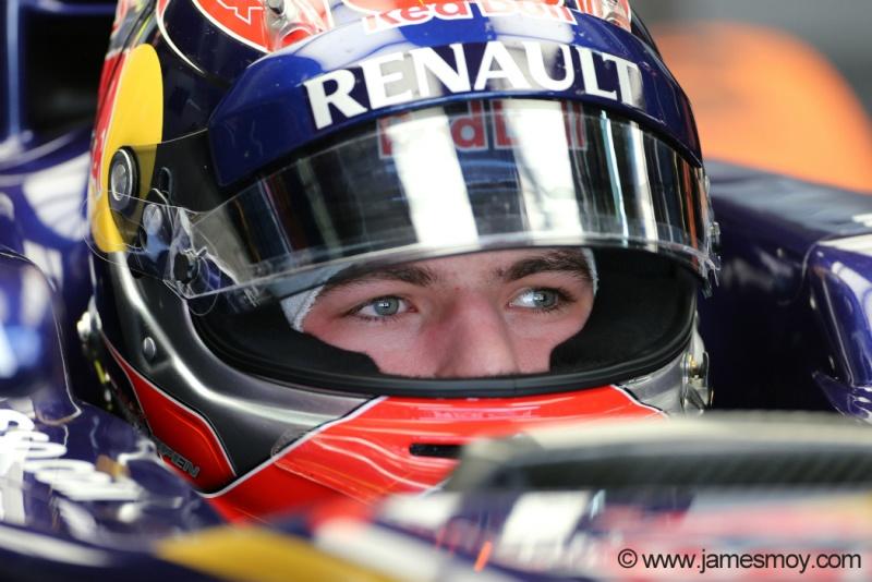 Verstappen participou do primeiro treino-livre em Interlagos
