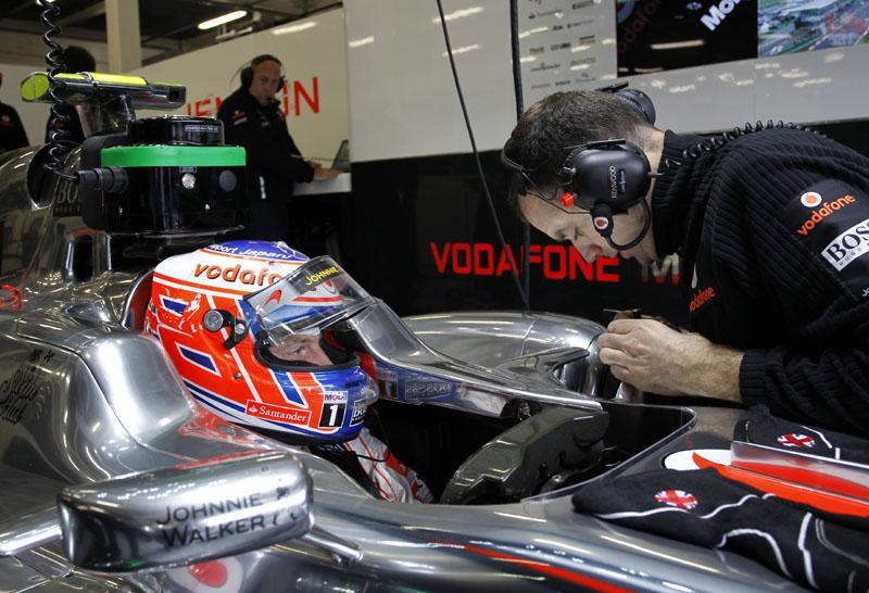 Jenson Button em Silverstone