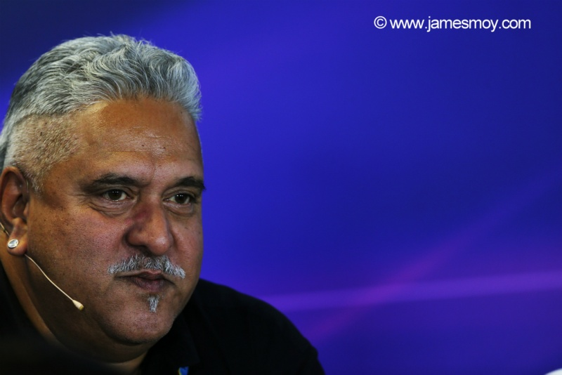 Mallya garante a continuidade da Force India na categoria